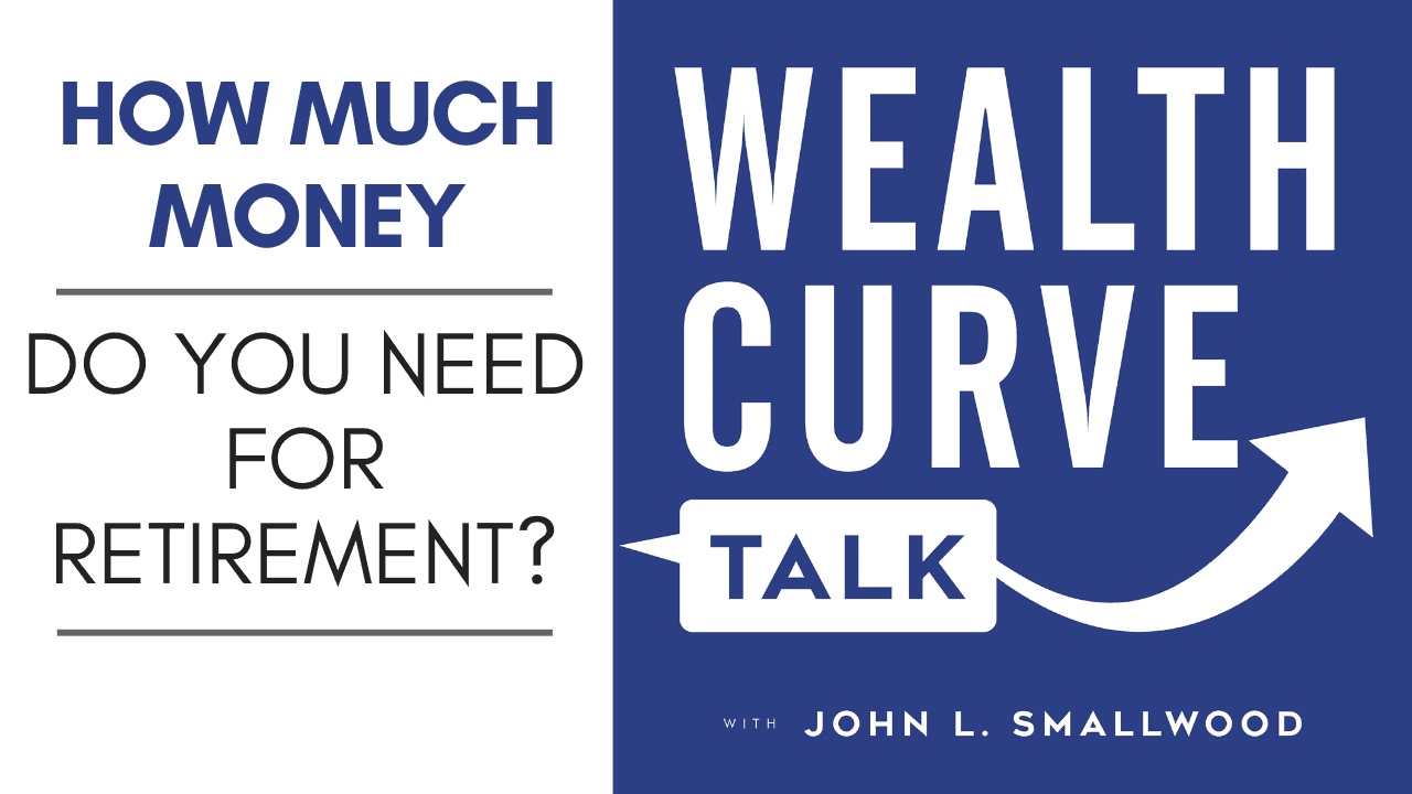how much money do you need for retirement podcast thumbnail